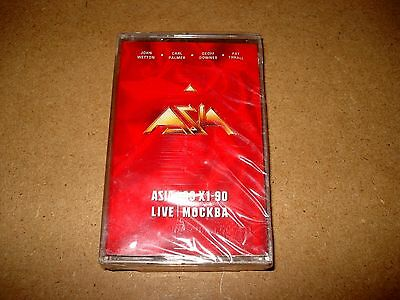 Asia - Live In Moscow / MC Kassette / 1991 / OVP, Sealed / USA / Cassette Tape