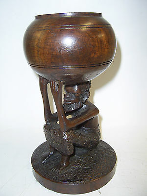 AFRICAN TYPE CANDLE HOLDER    (up) Saint Francis Hospice