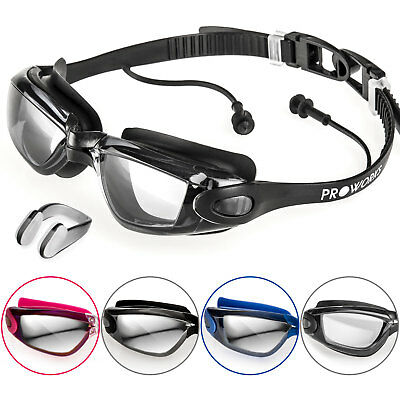 Proworks Anti Fog Swimming Goggles for Men Women Boys Girls Adult Junior Kids
