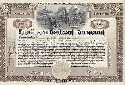 Southern Railway Company-Common Stock v. 1937