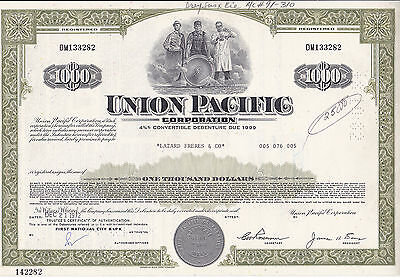 Union Pacific Corporation-shares v.1972
