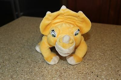 Land Before Time Plush Cera Dinosaur Yellow 12 Inch