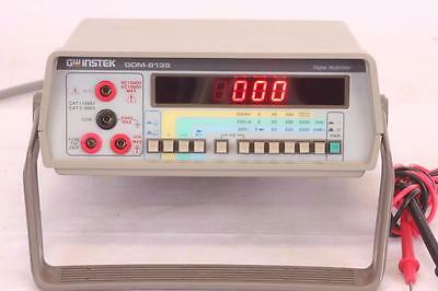 Instek GDM-8135 Digital Bench Multimeter With Power Cable and Test Leads
