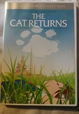 The Cat Returns DVD Studio Ghibli Collection Anime EXCELLENT CONDITION