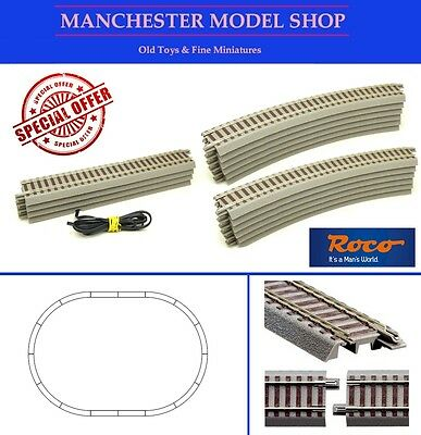 SPECIAL OFFER Roco HO 1:87 scale Geoline track oval BRAND NEW - SRP £41.20!