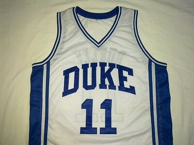 51a5d5ad36b BOBBY HURLEY DUKE Blue Devils White Basketball Jersey Gift Any Size ...