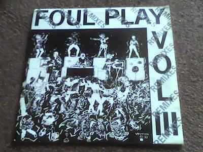 "FOUL PLAY Vol III Remixes Open Your Mind RARE 1993 UK MOVING SHADOW 10"" 29R EX"