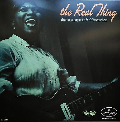 LP-VA. ✯THE REAL THING✯ - Dramatic Popcorn & R'n'B Scorchers -300 copies limited