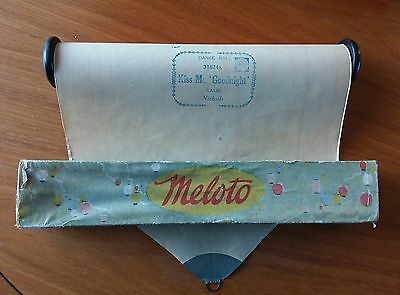 Pianola Dance Roll - Kiss Me Goodnight- Full Scale Meloto Standard Roll 31874A