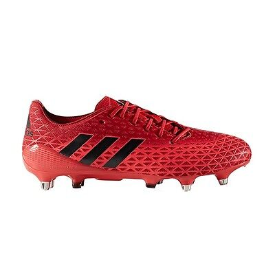 Adidas AW16 Crazyquick Malice SG Rugby Boots - Shock Red