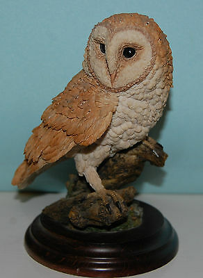 Collectible Country Artists By Goebel Large Figurine - Barn Owl