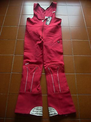 Deadstock Ellesse Suit Trousers Dungaree Salopette Ski Winter Snow 70 80 S50 Vtg
