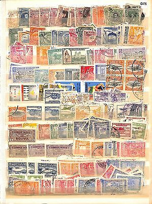 G476-Bolivia Collection – Mint & Used