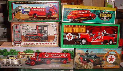 Texaco Collectable Bank Collection