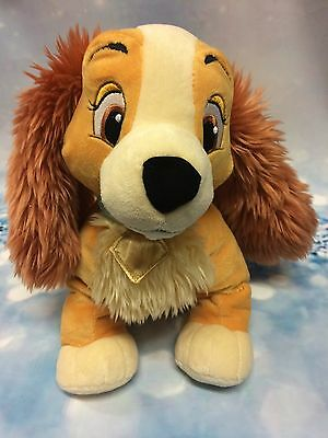 Genuine Disney Store Lady From Lady & The Tramp Soft Plush Toy