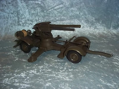 c1940 Hausser Elastolin 88mm Anti-Aircraft Gun - No.748
