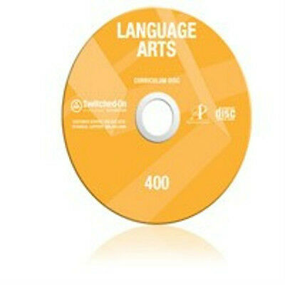 4th Grade SOS Language Arts Homeschool Curriculum CD Switched on Schoolhouse 4