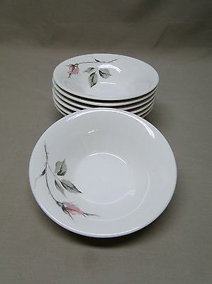 Knowles China DAWN ROSE by Kalla 7 Berry Bowls