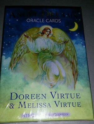 Brand new Angel Dreams oracle cards by Doreen Virtue and Melissa Virtue