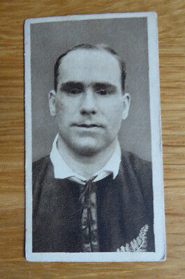 Tobacco Card R & J Hill The All Blacks # 15  1924