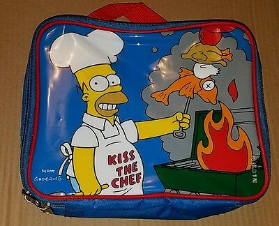 """The Simpsons Homer """"Kiss The Chef"""" Insulated Lunch Box"""