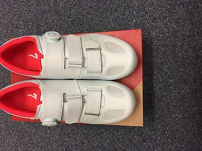 Specialized AUDAX road shoe Baby Blue/Rocket Red 43