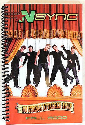 NSYNC No Stringed Attached Fall 2000 Tour United States Itinerary Book