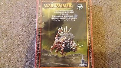 Beastmen Razorgor Warhammer Age Of Sigmar Games Workshop Metal