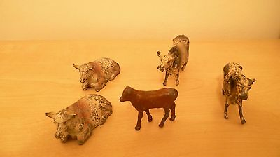 Toy lead farm animals