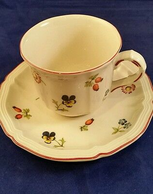 Villeroy & Boch Petite Fleur Coffee Cup and Saucer