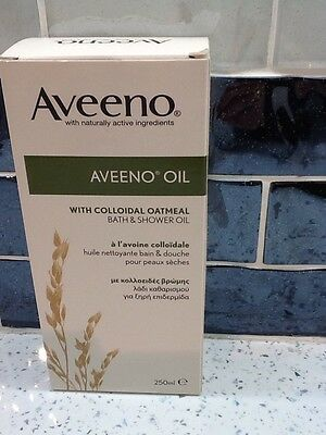 Aveeno Bath & Shower Oil 250 ml New
