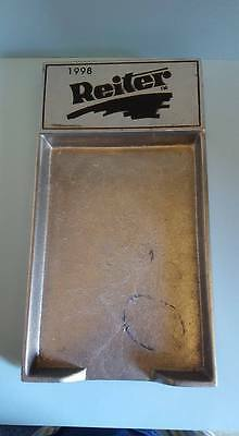 Reiter Dairy Pewter Notepad Holder; Olde Country Reproductions,Pewterex; York. P