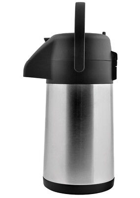 Pumpkanne Helia Isolierkanne 1,9 L Thermoskanne Kaffee Tee kanne Thermosflasche