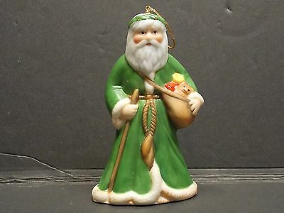 Father Christmas England Franklin Mint Faces of Around World 1988 British Santa