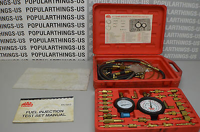 Mac Tools Fuel Injection Test Set FIT1100MS Pre-Owned Read Desc. Must Look