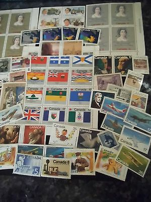 1973 / 1996 Canada stamps  Mint SETS & SINGLES can also be postage ! CV £25.00