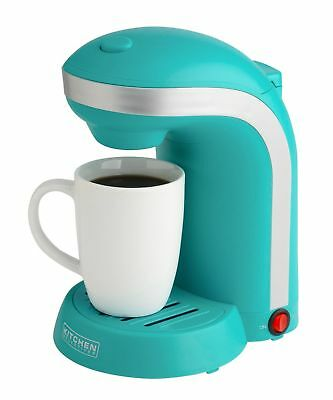 Kitchen Selectives Colors Single Serve Coffee Maker - Teal Turquoise