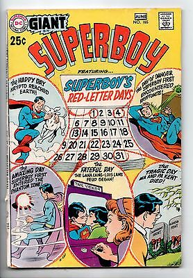 Superboy #165 - The Super-Dog from Krypton (DC, 1970) - VG/FN