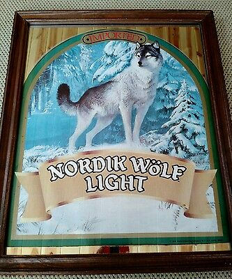 1984 EAGLE IMPORTING COMPANY 1984 Nordik Wolf Light Bar Mirror
