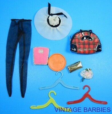 ** Barbie Doll Mixed Accessory Lot Excellent ~ Vintage 1960's *