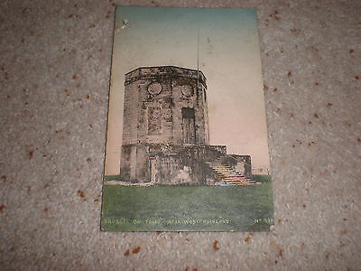 Old vintage postcard - Brusselton Folly West Auckland County Durham 1911