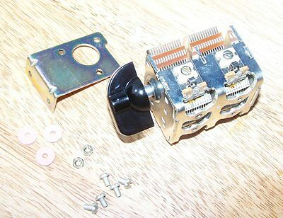 ALPS VARIABLE CAPACITOR.  NEW.  440 + 440pF  QRP ATU, VFO, RECEIVER, MAG LOOP