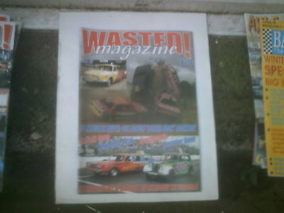 Wasted! Magazine.   Issue 40.  Banger Racing