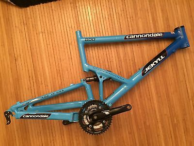 Large Cannondale Jekyll frame with Fox Float L