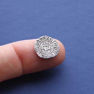 Hammered Silver Coin Richard 2nd Half Penny London Mint C 1377 AD