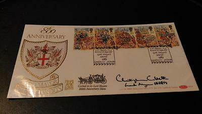 BENHAM 800th ANNIV CITY OF LONDON LORD MAYOR SHOW- SIGNED COVER