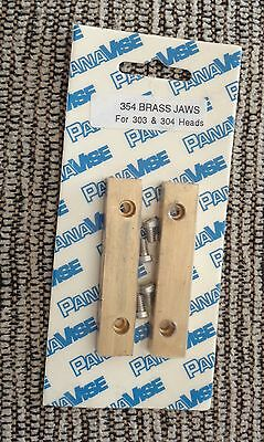 new in package PanaVise 354 Brass Jaws (pair) For  303 + 304 W/screws