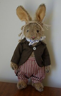 PDF files for Hampton Bears March Hare sewing pattern jointed Toy bunny rabbit