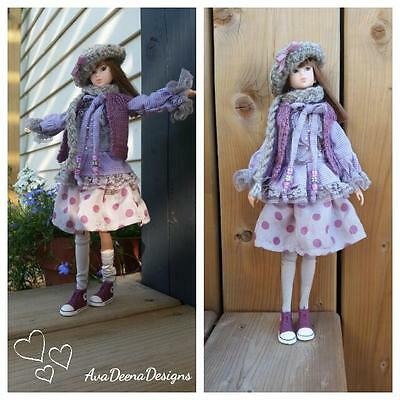 Momoko complete outfit clothes 6 pieces - handcrafted