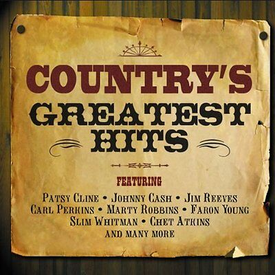 Various Artists-Country's Greatest Hits  CD NEU